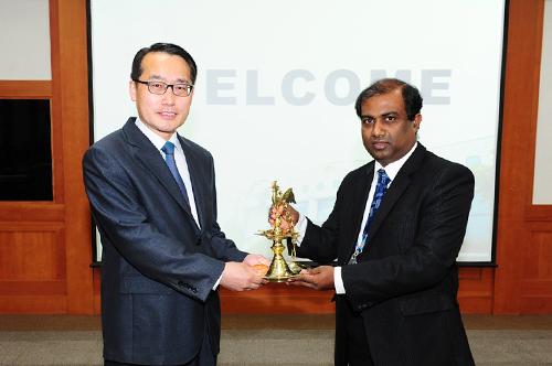 태국?스리랑카 선거관계자 연수단 중앙위원회 방문