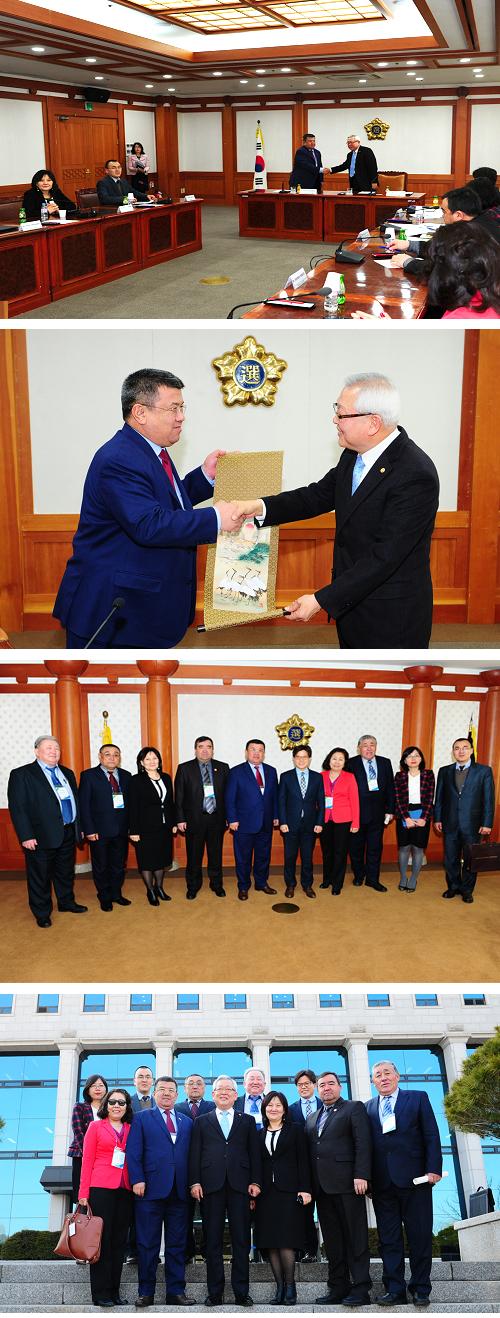 키르키즈공화국 선거관계자 연수단 중앙위원회 방문