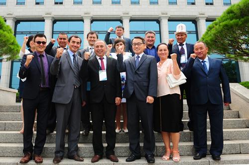 「키르기즈공화국 선거역량강화 PCOS 실무연수단」참가자 중앙위원회 방문