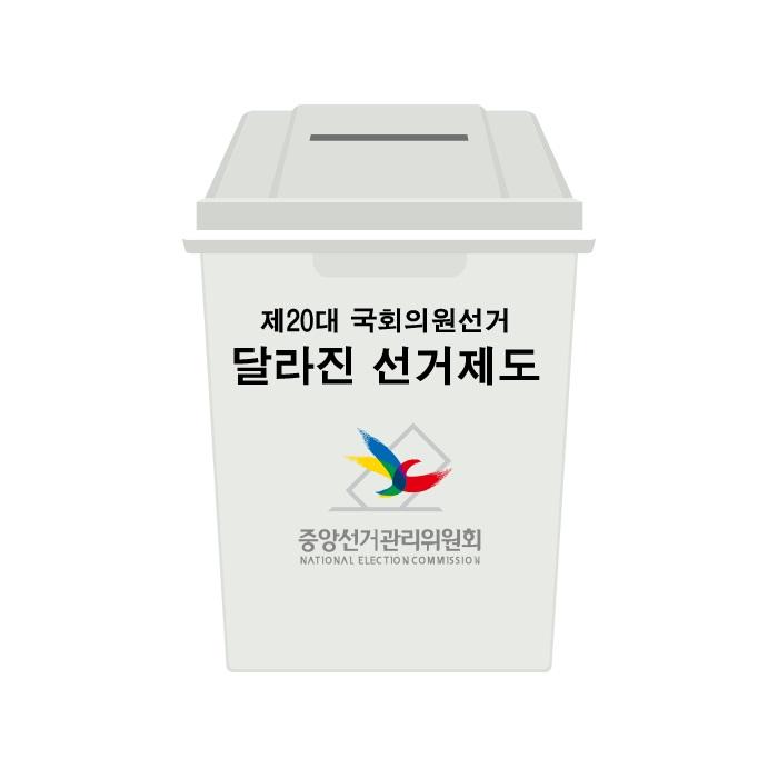 (제20대 국회의원 선거) 달라진 선거제도