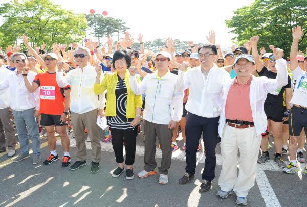 유권자의 날 기념 마라톤대회 개최 관련이미지 1