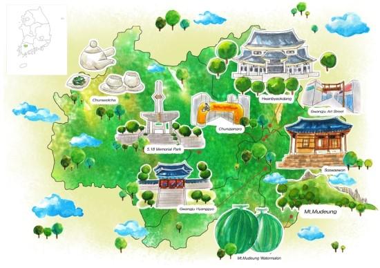 [여행 속 민주주의] 광주에서의 예술 산책 관련이미지1