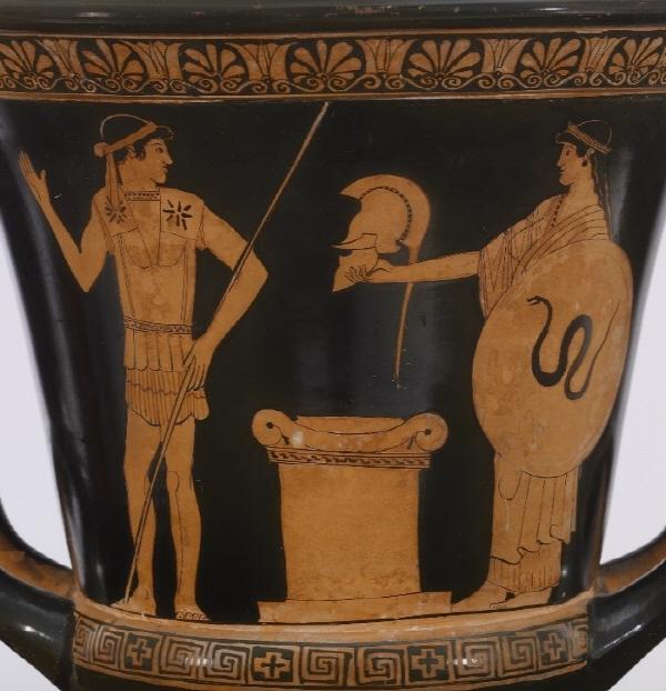 아테네의 적색상토기 사진