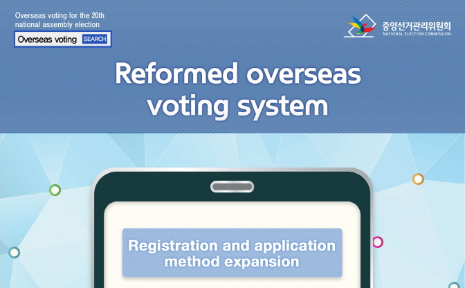 Reformed overseas voting system