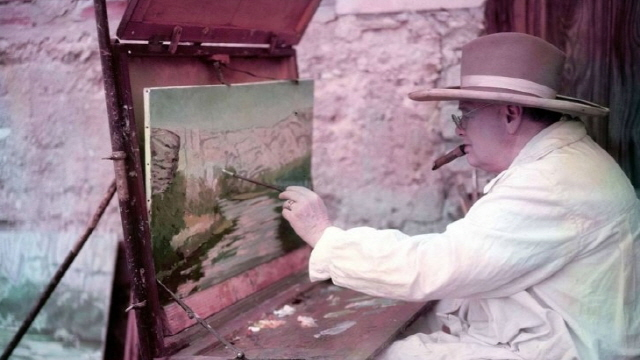 [미술과 선거] 미술을 사랑했던 해외정치가, 처칠과 아이젠하워
