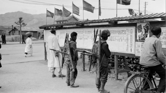 사진으로 보는 민주선거 70년