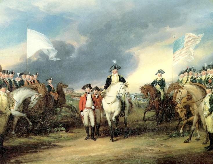 영국 콘월리스 장군의 항복으로 끝난 미국독립혁명 관련이미지3