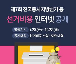 제7회 전국동시지방선거 선거비용 공개